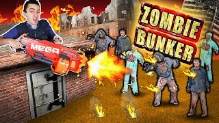 Download NERF ZOMBIE BUNKER DEFENSE! (Real Zombie Apocalypse) Video