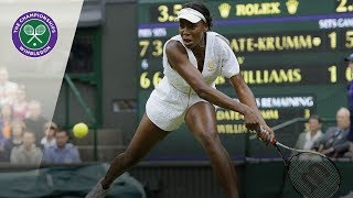 Download Venus Williams v Kimiko Date: Wimbledon second round, 2011 (Extended Highlights) Video