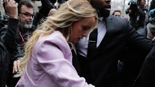Download Stormy Daniels Arrives at NY Courthouse Video