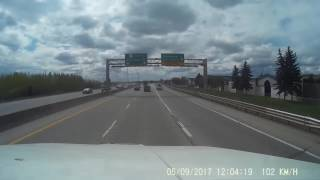 Download Police are looking for a witness to this bit of driving on Calgary's Deerfoot Trail Video