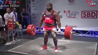 Download Ray Williams - 1083.5kg 1st Place 120+kg - IPF World Classic Powerlifting Championships 2018 Video