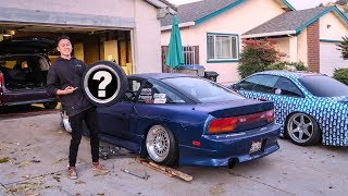 Download NEW WHEELS FOR THE 240SX!! Video