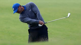 Download Watch: Tiger's full first round at the 2019 Open Championship Video