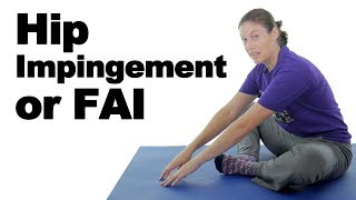 Download Hip Impingement (FAI) Pain Stretches & Exercises - Ask Doctor Jo Video