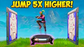 Download HOW TO JUMP 5X's HIGHER ON LAUNCH PAD! - Fortnite Funny Fails and WTF Moments! #221 (Daily Moments) Video