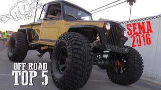 Download TOP 5 OFF ROAD RIGS of SEMA SHOW 2016 Video
