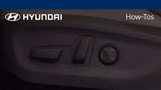 Download How to Adjust the Seat Height | Hyundai Video