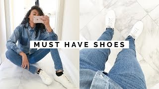 Download 10 SHOES EVERY GIRL MUST HAVE!! | WARDROBE BASICS #2 Video
