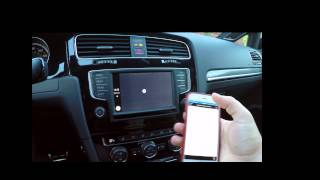 Download Volkswagen 2016 MIB II with TomTom + Apple CarPlay Video