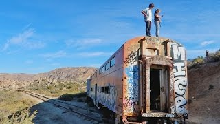Download SNEAKING INTO A DESERTED TRAIN! Video