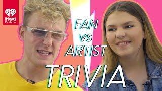 Download Jake Paul Challenges Super Fan In Trivia Battle | Fan Vs. Artist Trivia Video