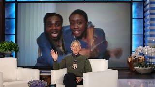 Download Ellen Surprises a Sweet Single Mother and Daughter Video