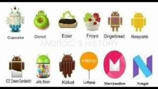 Download Android Versions History:2008-2016(Updated) Video