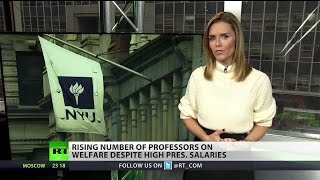 Download Growing number of college professors in poverty Video