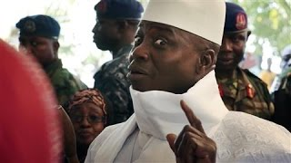 Download Longtime Gambian President Refuses to Cede Power Video