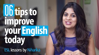 Download 06 Tips To Improve Your English Today! - Free English speaking tips. Video