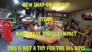 Download SNAP ON NEW DISPLAY ITEMS & MILWAUKEE NEW 1/2 2767 IMPACT🛠🔩👍🏽🔥💥 Video