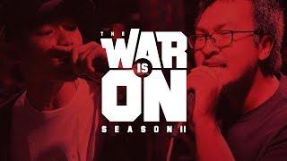 Download THE WAR IS ON SS.2 EP.3 - HALIBAVG VS REPAZE | RAP IS NOW Video