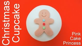 Download Christmas Cupcakes - How to Make Gingerbread Man Cupcake by Pink Cake Princess Video