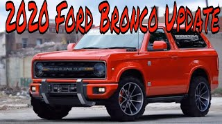 Download 2020 Ford Bronco Update Video