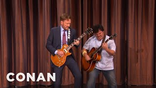 Download Conan And Jack Black's Guitar Battle - CONAN on TBS Video