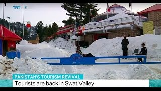 Download Pakistan's Tourism Revival: Tourists are back in Swat Valley Video