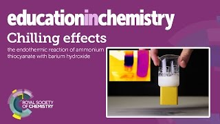 Download Chilling effects – a spontaneous endothermic demonstration Video