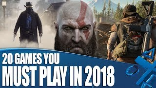 Download 20 PS4 Games You Must Play In 2018 Video