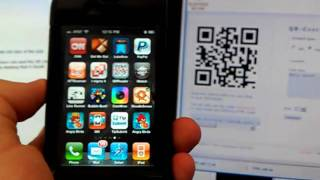 Download QR Code Reading in an iPhone Video