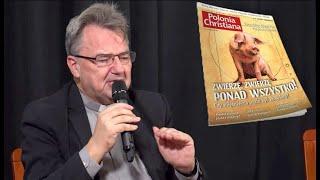 """Download Ks. prof. Paweł Bortkiewicz, Arkadiusz Stelmach, Piotr Relich: """"Czy mięsożerca może być zbawiony?"""". Video"""