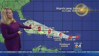 Download Tracking Hurricane Irma 9/4 5AM Video