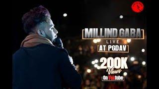 Download MILLIND GABA LIVE @PGDAV, FOR BOOKINGS-9811179580 Video