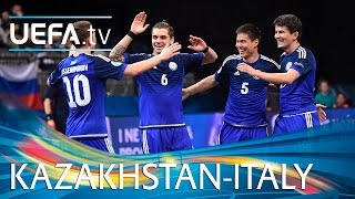 Download Futsal EURO Highlights: Watch Kazakhstan shock holders Italy Video