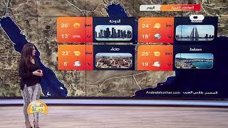 Download الأنواء الجوية وتغيرات الطقس مع دينا هلسة 29-12-2019 Video