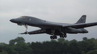 Download B1, B52 & U2 Spy plane arrive at RIAT Video