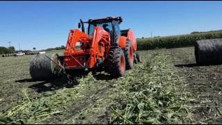 Download Corn silage bales 2016 Video