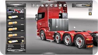 Download Scania Mega Tuning Mod ETS2 (Euro Truck Simulator 2) Video