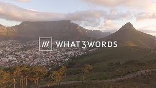Download what3words makes waves in South Africa Video