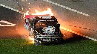 Download Nascar - Daytona Speedweeks 2018 - Crash Compilation Video