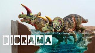 Download DIY Resin Water River Diorama featuring Safari Ltd.'s Triceratops! Video