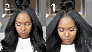 Download 2 to 1 Quick Braided Top Knots Video