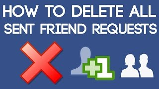 Download How to Delete All Sent Friend Requests on Facebook at Once 2018 [100% Working Trick] Video