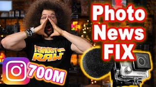Download PHOTO NEWS FIX: $witching From CANON to SONY? Underwater GoPro Mic & INSTAGRAM Hits 700M Video
