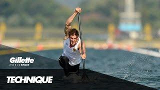 Download Sprint Canoe Technique with Olympic Champion Sebastian Brendel   Gillette World Sport Video