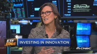 Download Ark Invest's Cathie Woods defends her Tesla to $4,000 call Video