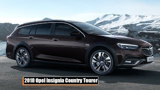 Download 2018 Opel Insignia Country Tourer Exclusive / Driving Scenes Video
