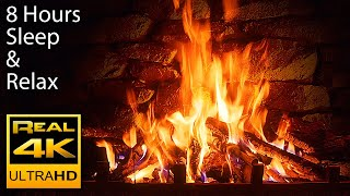 Download 8 HOURS 🔥 The Best 4K Relaxing Fireplace with Crackling Fire Sounds No Music 4k UHD TV Screensaver Video