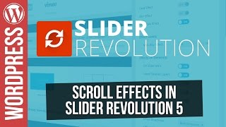 Download Creative Scroll Effects in SLIDER REVOLUTION 5 for Wordpress Video