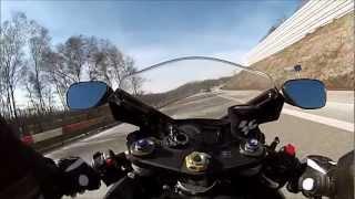 Download Gopro Hero 3 white edition Gsxr 750 K8 ( Test video on the German Autobahn ) Video