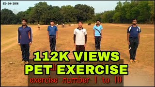 Download Mass PT ||Table Number 1 || Exercise number 1 to 10 || Bped boys Video